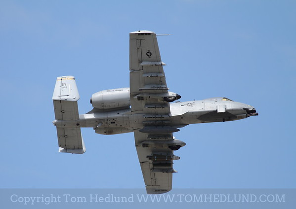 A-10 from Indiana turning in to land.