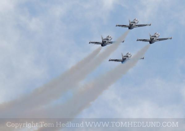 L-39's of the Black Diamond Jet Team.