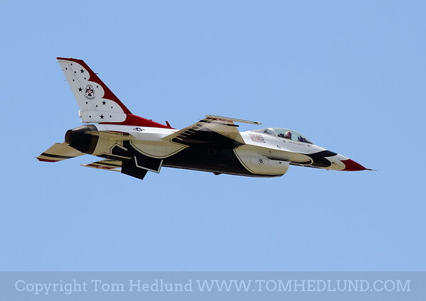 Thunderbirds # 6 practicing on Friday.
