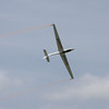 Fox aerobatic glider display