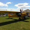 CubCrafters Carbon Cub - Tundra tyres look a bit out of place in rural England, but a fantastic looking aeroplane anyway.