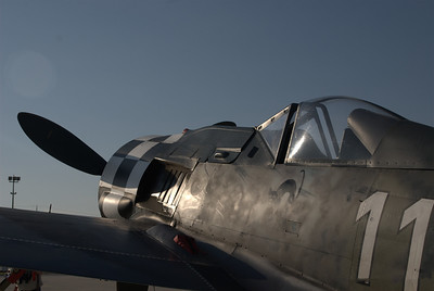 Morning sun on the FW190