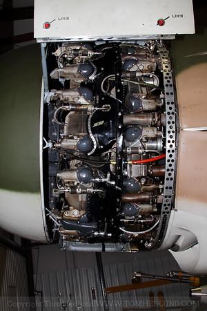 AD-1's  Wright R-3350-26WA Radial engine.