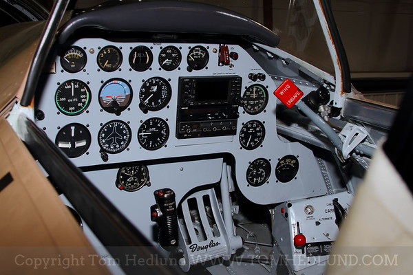 The center panel of the AD-1.