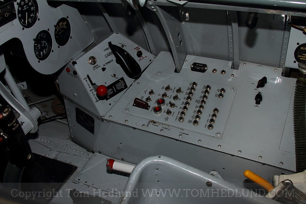 Right hand side panel of the AD-1.