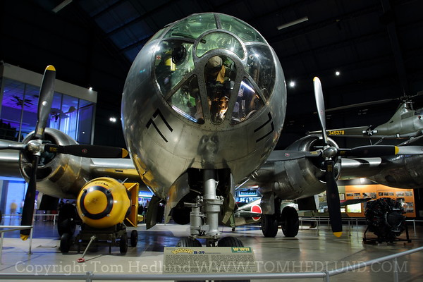 """BOEING B-29 SUPERFORTRESS AND """"FAT MAN"""" ATOMIC BOMB"""