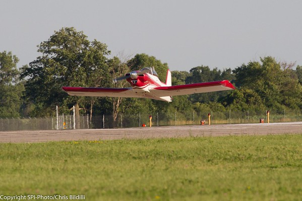 Gear up landing.  Not on purpose.