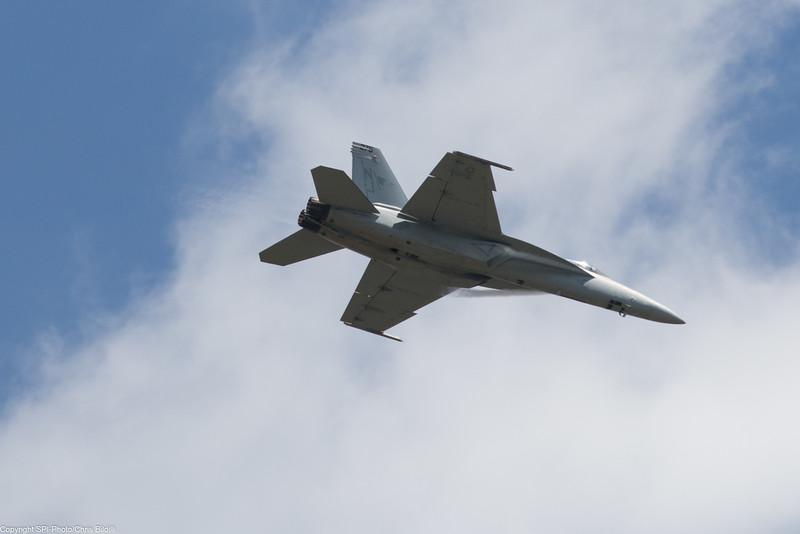 F/A-18E VFA-122 - Negative G push over