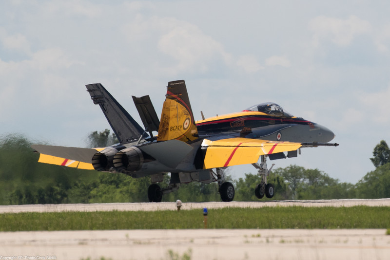 Canadian CF-18 Tac Demo