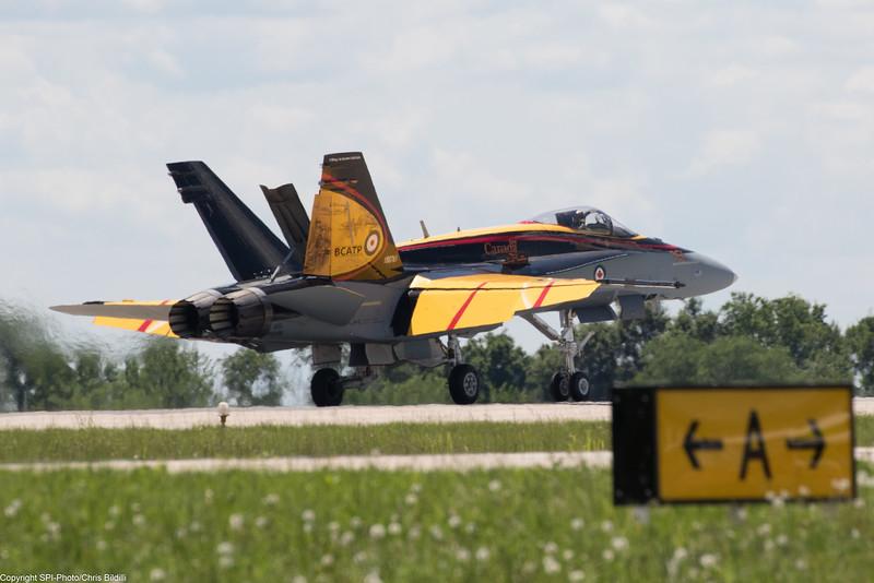Canadian CF-18 Tac Demo