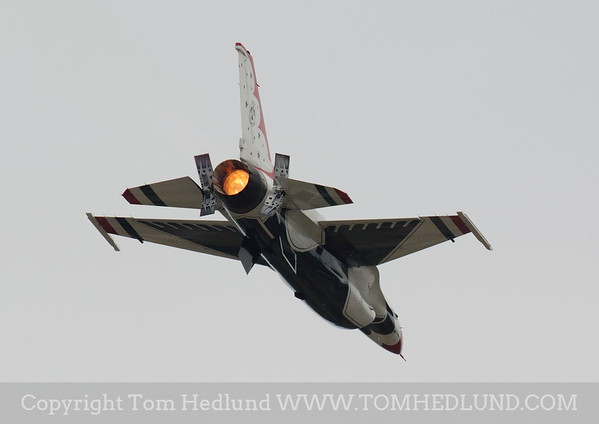 Thunderbird appling the Afterburner and brakes.