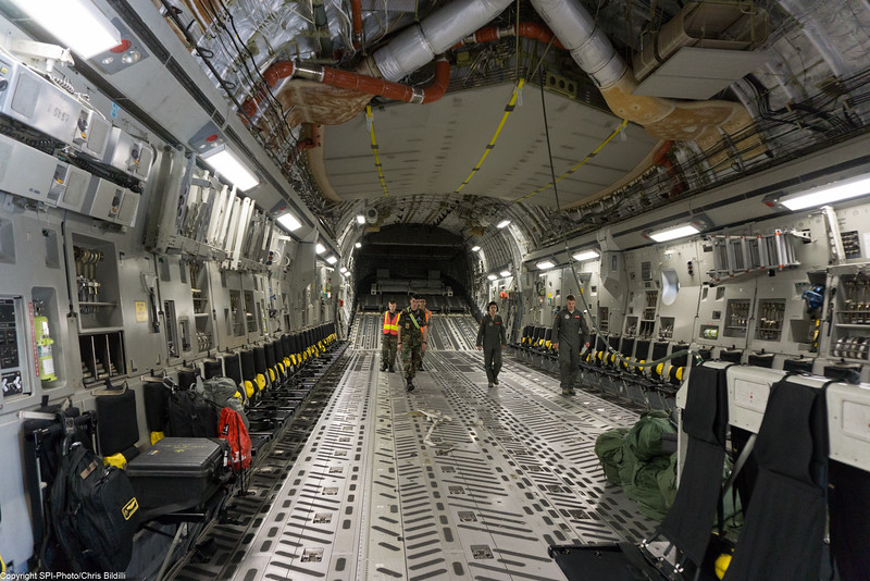 C-17 Cargo area