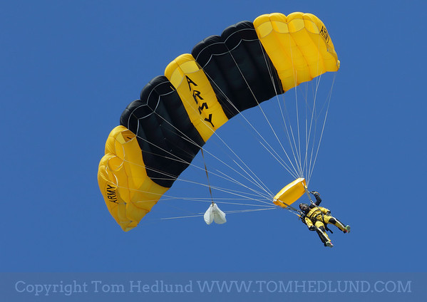 Charles Tilliman and Golden Knights