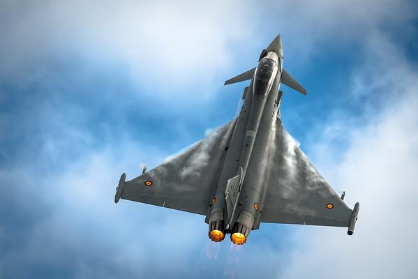 Eurofighters + Typhoons @ Nato Days 2016