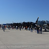 Quite the turnout of aviation enthusiast gathering to witness all the Avenger on this beautiful weekend.