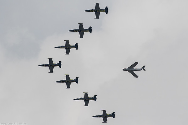 Breitling Jet team and guest