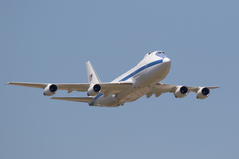 E-4 Airborne Command Center