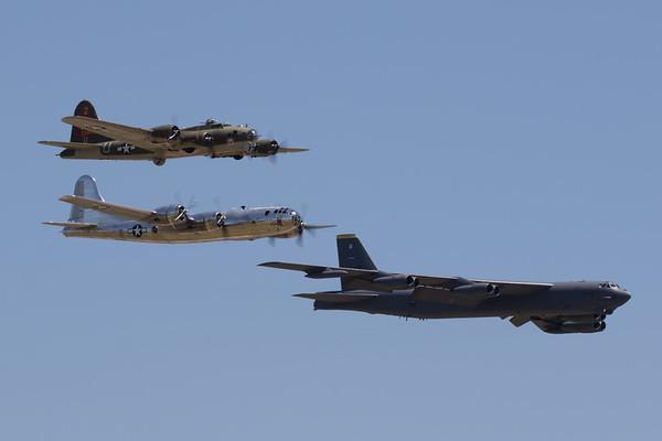 Boeing Pass - B-17, B-29, B-52