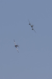 Me-262 and P-51
