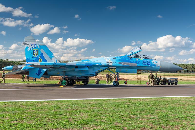 Su-27 Flanker, Ukranian Air Force