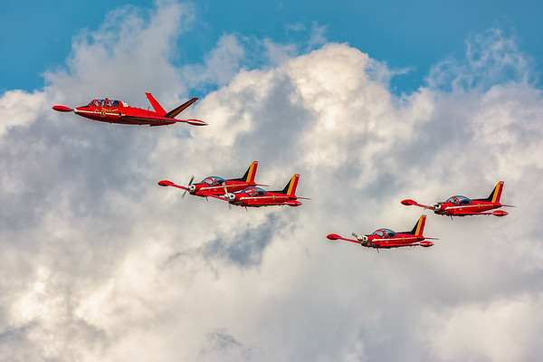 Belgian Airforce days 2018, Kleine Brogel AFB