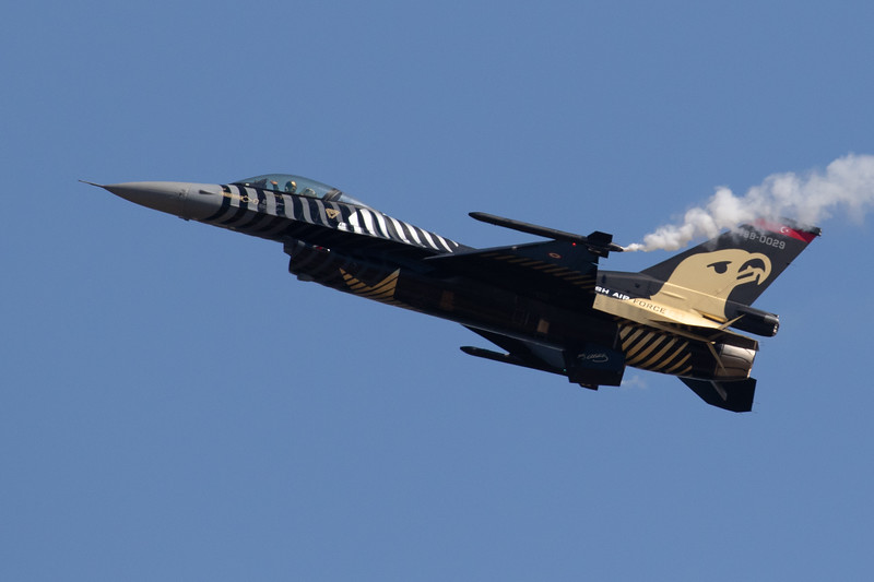 Turkish F-16 Demo