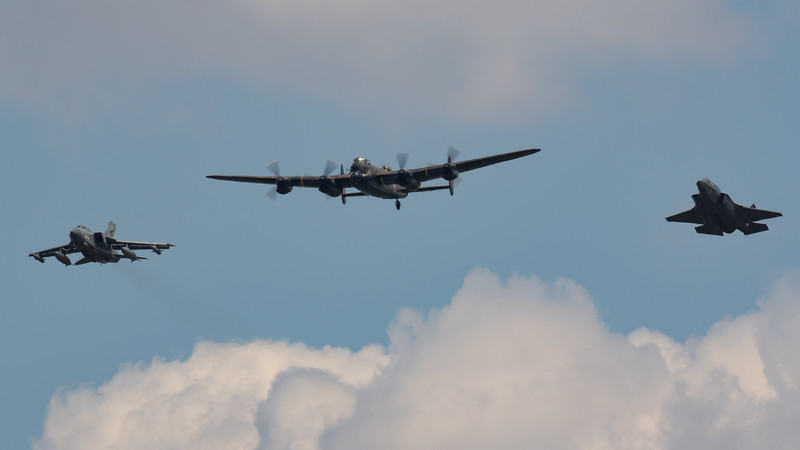 Dam Busters Squadron Fly-Past (Past, Present, Future)