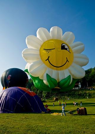 35th Annual Helen To The Atlantic Hot Air Balloon Race 2008
