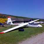 Puchacz FWE - I spent 5 hours thermalling in FWE for my Silver duration flight