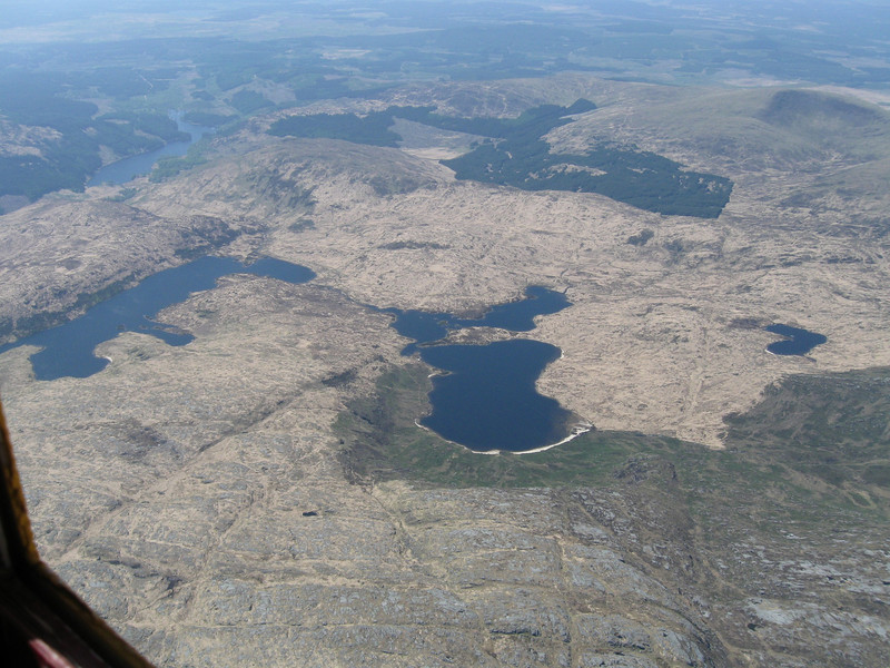 Loch Trool, Loch Valley and Loch Neldricken