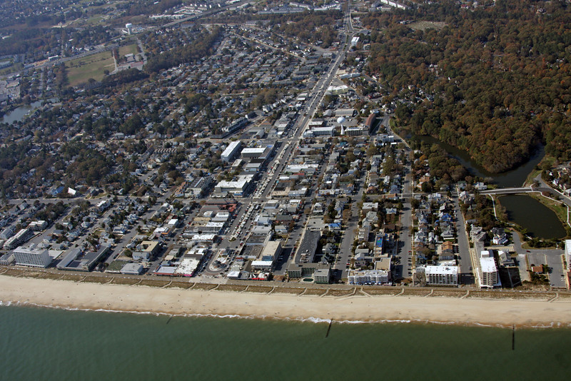 Downtown Rehoboth Beach, Delaware