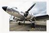 Le Douglas DC-3 est un avion de transport bimoteur à hélices, produit par la compagnie américaine Douglas Aircraft entre 1936 et 1945. Sa vitesse et son rayon d'action révolutionnèrent le transport aérien.
