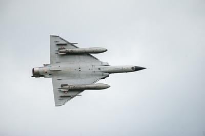 La présentation tactique des Ramex Delta est assurée par le personnel de l'escadron de chasse 2/4 « La Fayette », unité emblématique située sur la base aérienne 125 d'Istres. Ses équipages et mécaniciens assurent en permanence la mission de dissuasion nucléaire. Ils participent aussi aux opérations extérieures de l'armée de l'air.  Cette démonstration en vol de deux chasseurs-bombardiers regroupe les principales manoeuvres effectuées en combat. Elle illustre les capacités de l'avion et permet de découvrir les techniques de pilotage en patrouille. Source : http://www.defense.gouv.fr/air/acces-specifiques/les-ambassadeurs/ramex-delta/la-patrouille-ramex-delta