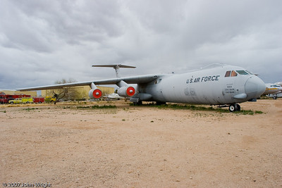 "Lockheed C-141B ""Starlifter"" transport"