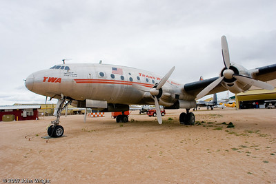 "Lockheed L-049 ""Constellation"" in TWA markings"