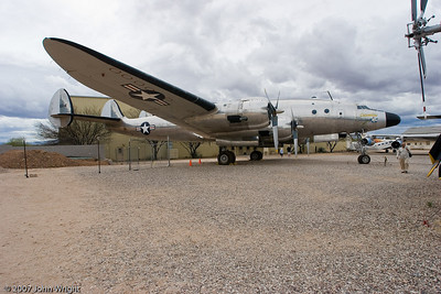 Lockheed VC-121A VIP aircraft used by Dwight Eisenhower while SHAPE Commander.