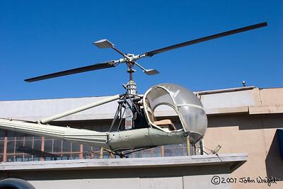 """Hiller H-23 """"Raven"""" Helicopter"""