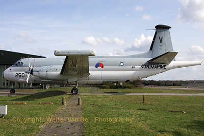 Former German Marineflieger SP-13A Atlantic (reg: 61+20 ; cn 60), now painted in Dutch Navy colors to represent the 250/V, preserved in the new museum at Soesterberg Air Base (closed).