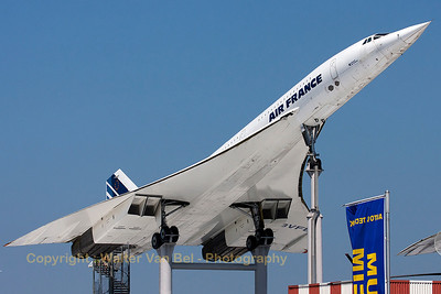 An Aerospatiale-BAC Concorde (F-BVFB, cn207),preserved at the Technik Museum Sinsheim.