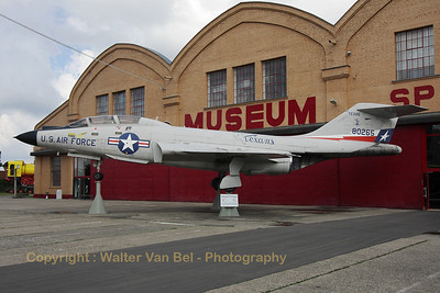 McDonnell F-101B Voodoo (58-0265) - in a c/s of the Texas ANG - preserved at the Technik Museum Speyer (Germany).