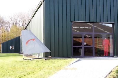 Musee Col.Avi. R. Lallemant DFC. at Florennes Air Base.