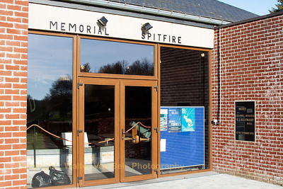 Memorial Spitfire - Musee Col.Avi. R. Lallemant DFC. at Florennes Air Base.