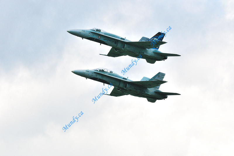 Husband and Wife team flyby.