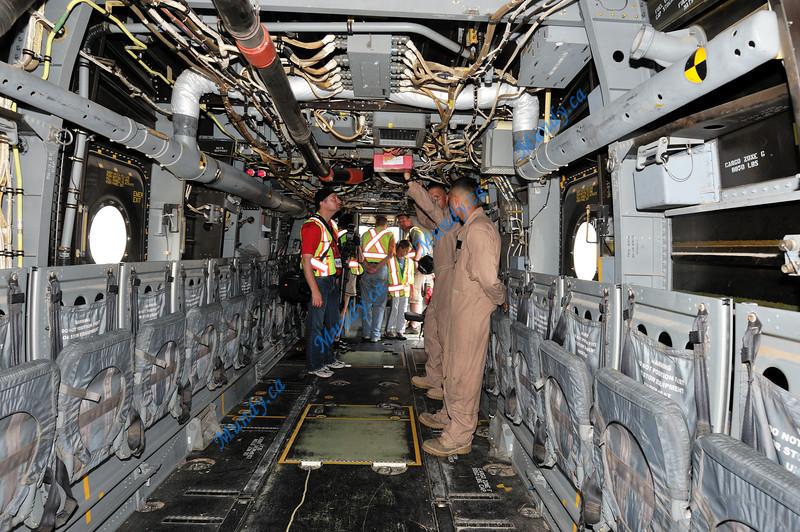 Osprey interior.