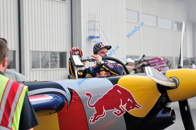 Fill 'er up - with Red Bull?