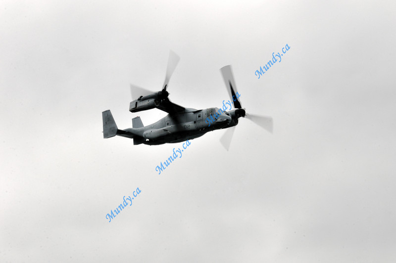 Got some good motion blur on the rotors.