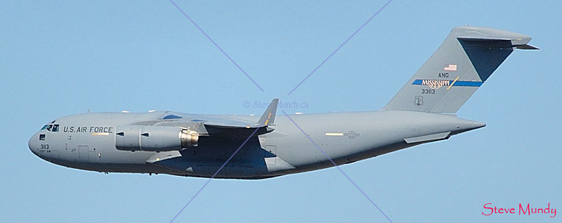 C17 - Globemaster - Mississippi Air National Guard