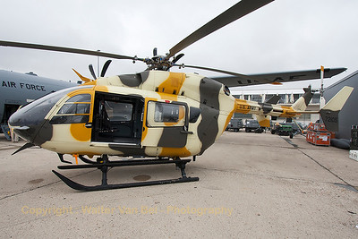 US Army UH-72A Lakota (09-72105; cn9320) in the static parc at the 2015 Paris Air Show.