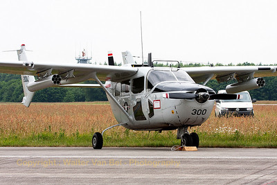 Cessna O-2A in the static parc at Volkel Air Base (Luchtmachtdagen 2013).