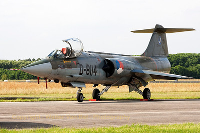 This recently restored F-104G (D-8114, cn683-8114) was looking pretty good, although it is no longer in flying condition (Luchtmachtdagen 2013).